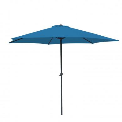 Parasol droit rond 270cm - Bleu- OIA